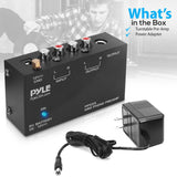 PYLE PP555 Ultra Compact Phono Turntable Pre-Amplifier w/ 9 V Battery Compartment