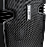 Pyle Pphp1537Ub Bluetooth Pa Cabinet 15-Inch 1200 Watt Powered Speaker System Usb/sd Fm Radio