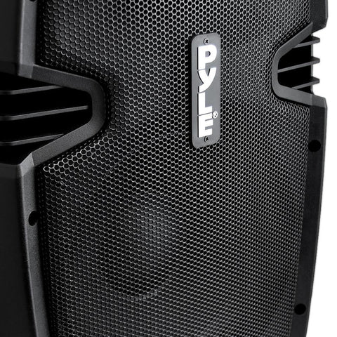 PYLE PPHP1537UB Bluetooth PA Cabinet 15-Inch, 1200 Watt Powered Speaker System, USB/SD, FM Radio