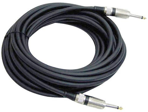 Pyle Ppjj50 50Ft. 12 Gauge Professional Speaker Cable 1/4 To Cables Connectors & Adapter