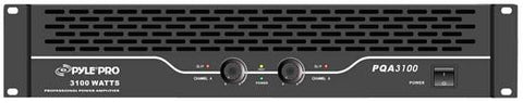 Pylepro (Pqa3100) 19 Rack Mount 1550 Watt Professional Power Amplifier 380 + Watts @ 8 Ohms Pa -