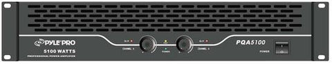 Pylepro (Pqa5100) 19 Rack Mount 2550 Watt Professional Power Amplifier 600 + Watts @ 8 Ohms Pa -
