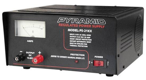Pyramid (Ps21Kx) 20 Amp Power Supply