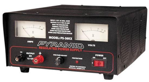 Pyramid (Ps36Kx) 32 Amp Adjustable Power Supply
