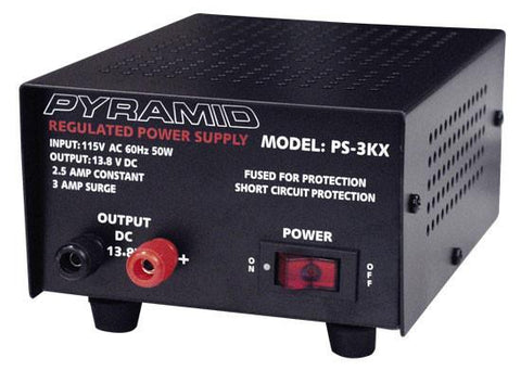 Pyramid (Ps3Kx) 2.5 Amp Power Supply