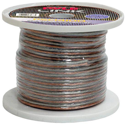 Pyle (PSC14100) 14 Gauge 100 ft. Spool of High Quality Speaker Zip Wire - expert island