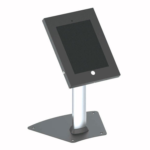 Pyle Pspadlk12 Tamper-Proof Anti-Theft Ipad Kiosk Safe Security Desk Table Stand Holder Public