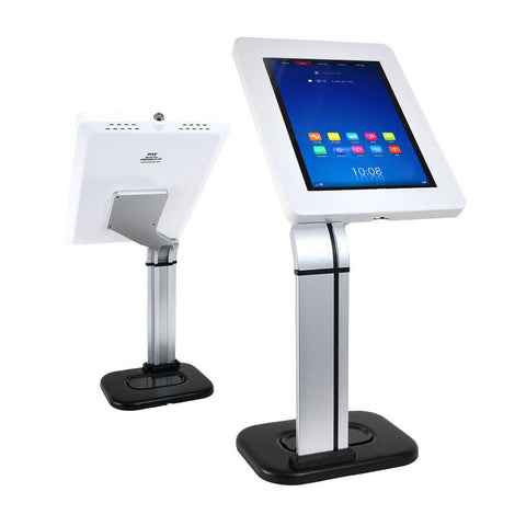 Pyle Pspadlk14 Universal Tabletop Tamper-Proof Anti-Theft Ipad Tablet Kiosk Counter Top Stand Holder