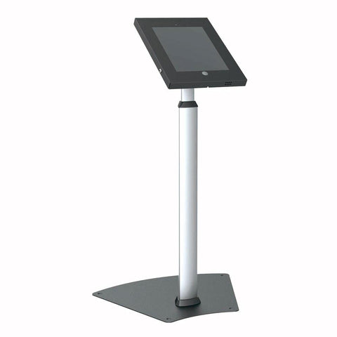 Pyle Pspadlk55 Tamper-Proof Anti-Theft Ipad Kiosk Safe Security Public Floor Stand Holder Display