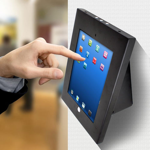 PYLE (PSPADLKW5) Universal Anti-Theft iPad Kiosk Multi-Mount Stand Holder - expert island