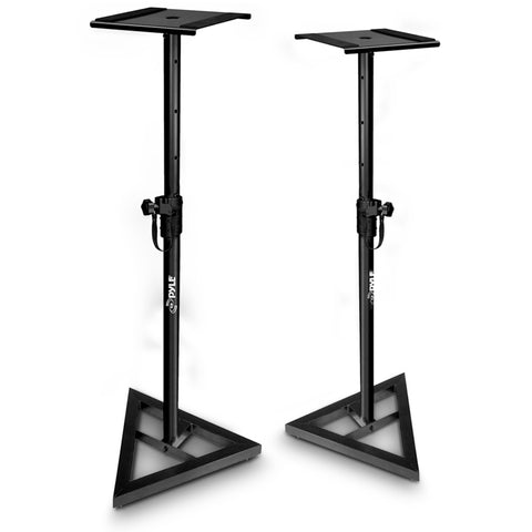 PYLE PSTND35.5 Height Adjustable Monitor Speaker Stands (Pair)