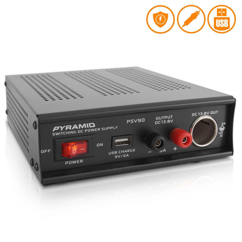PYRAMID PSV90 Desktop Bench Power Supply, AC to DC Converter