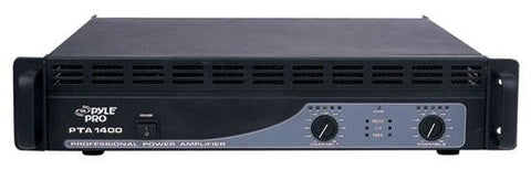 Pylepro Pta1400 1400 Watts Professional Power Amplifiers Amplifier