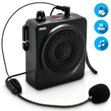 PYLE PWMA50B Portable 50 Watt Waist-Band PA System w/Headset Mic and Rechargeable Battery
