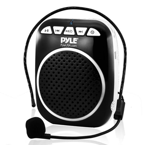 Pyle Pwma55 Portable Pa Speaker Voice Amplifier With Built-In Rechargeable Battery