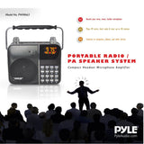 PYLE PWMA63 Portable Personal PA Speaker w/Headset, Radio, USB, MP3