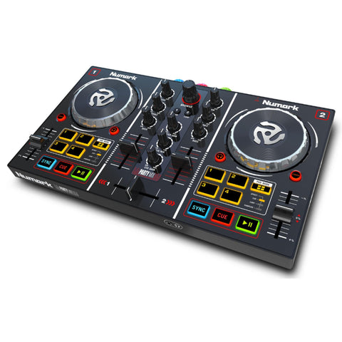 Numark Party Mix Dj Controller W/built-In Light Show Audio
