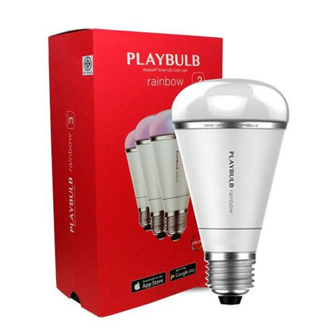 MiPow PLAYBULB Rainbow Bluetooth LED Light Bulb - expert island