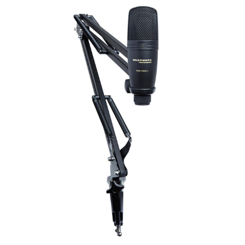 Marantz Pod Pack 1 Usb Microphone With Broadcast Stand And Cable