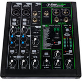 Mackie ProFX6v3 6-Channel Pro Effects Mixer with USB