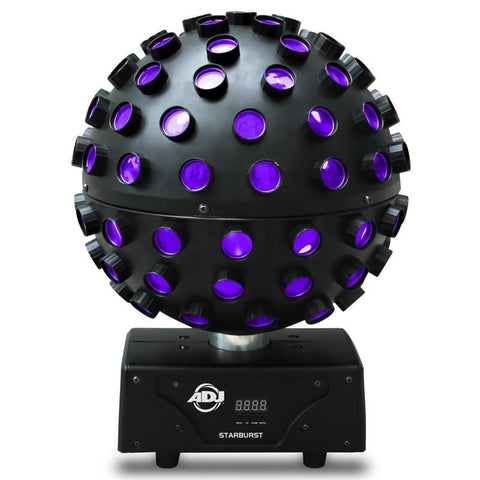 American Dj Starburst Dmx Rotating Ball Lighting Effect Hex-Rgbwa+Uv Led Lights Lighting