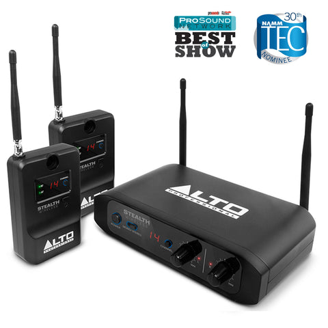 Alto Stealth Wireless Stereo Wireless System For Active Loudspeakers Speaker