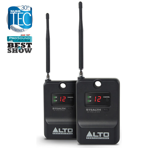 Alto Stealth Wireless Expander Pack Additional Receivers - 2 Wireless Speaker