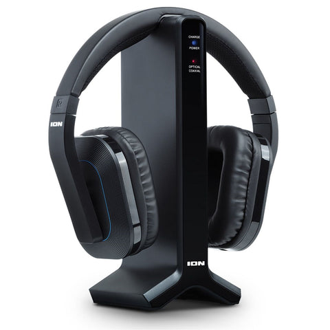 ION Audio Telesounds Wireless Headphone System for TV