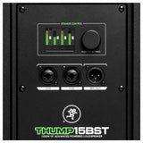 Mackie Boosted Thump15Bst Bluetooth 1300 Watt 15-Inch Powered Loudspeaker W/ 3-Channel Digital Mixer