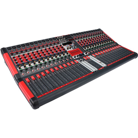 BLASTKING ULTRAMIX-24FX 24-Channel Analog Stereo Mixing Console w/Bonus Flight Case