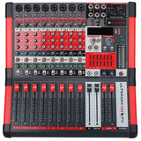BLASTKING ULTRAMIX-8FX 8-Channel Analog Stereo Mixing Console