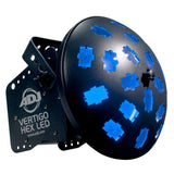 American Dj Vertigo Hex Led Lighting Effect Stage Event - Rgbcaw 6-In-1 Lighting