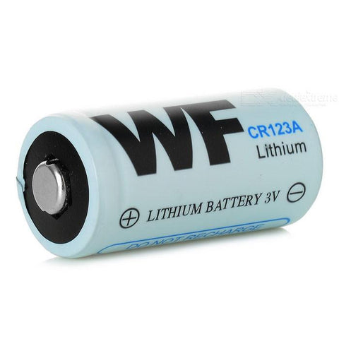 Wf Lithium Battery - Cr123A Single Or 2 Pack