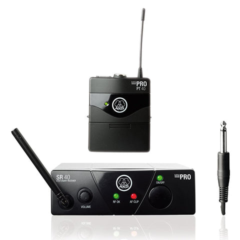 Pro Audio Wms40 Mini Instrumental Set (Freq. 45A) - Wms40Mini-Instr-Us45A Wireless Microphone