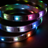 LED Strip/Tape Light WS2801 Addressable Programmable 5050 SMD IP33, 160 LED's, 5 Meters - expert island