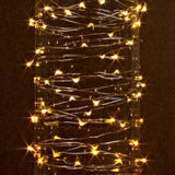 Fairy String Lights 50 LED Copper Wire Lights - Assorted Colours 5 Meter (16ft) Length - expert island