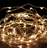 Fairy String Lights 100 LED Copper Wire Lights - Assorted Colours 10 Meter (33ft) Length - expert island