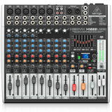 Behringer Xenyx X1222Usb 16-Input 2/2 Bus Mixer With Usb/audio Interface Audio