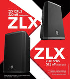 Electro-Voice Ev Zlx-15P 15-Inch Two-Way Powered Loudspeaker Powered Speaker