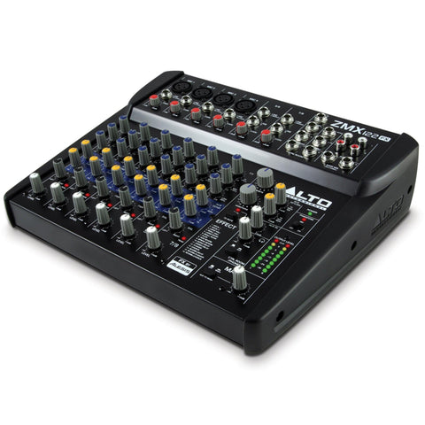 Alto Zmx122Fx 8-Channel Compact Mixer With Effects Audio
