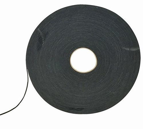 "Industrial Double Sided Foam Tape - 1/2"" x 36 Yards - White or Black - expert island"