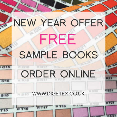 order a free set of sample books for your bespoke digital print project