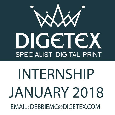 DIGETEX DESIGN INTERNSHIP - JANUARY 2018