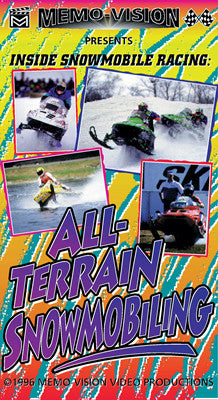 1996 ALL TERRAIN SNOWMOBILING Extreme Snowmobile DVD