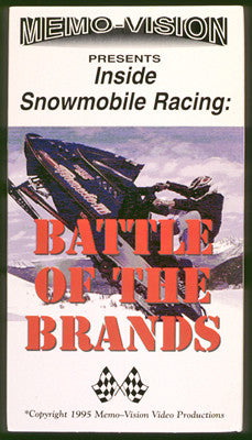 1995 BATTLE OF THE BRANDS Extreme Snowmobile DVD