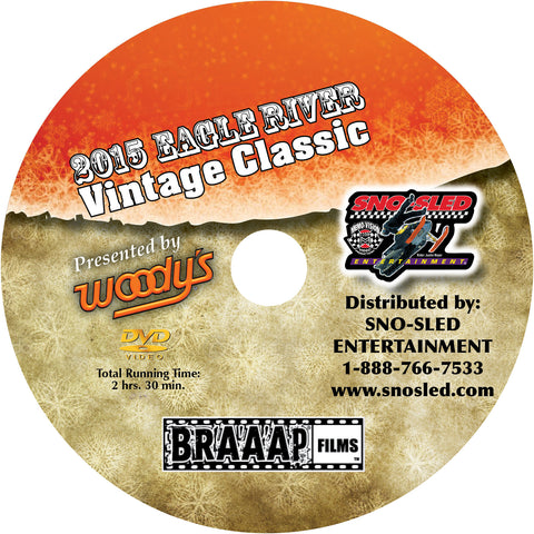 Eagle River Vintage Classic 2015 Extreme Snowmobile DVD