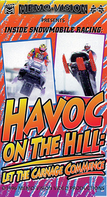 1996 HAVOC ON THE HILL-Let the Carnage Commence Extreme Snowmobile DVD