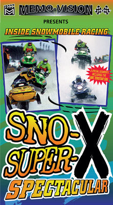 1997 SNO-X SUPER-X SPECTACULAR Extreme Snowmobile DVD