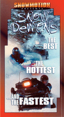 1998 SNOW DEMONS (PPI) Extreme Snowmobile DVD