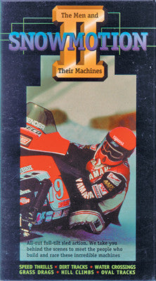 1992 SNOWMOTION 2 – MEN AND THEIR MACHINES (PPI) Extreme Snowmobile DVD
